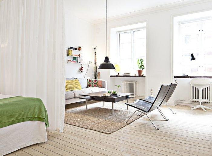 Modern Small Apartment And Studio Design Ideas
