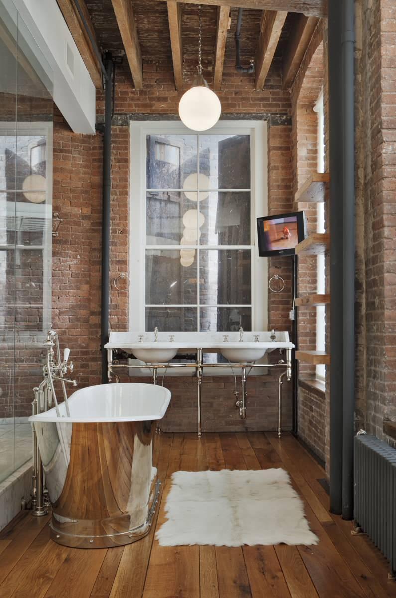 Modern Small Apartment and Studio Design Ideas | Founterior on Small Apartment Bathroom Ideas  id=35718