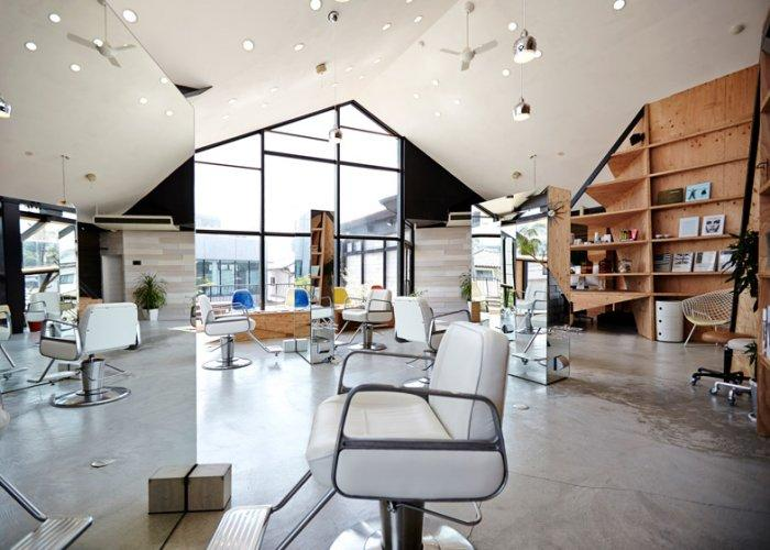 Hairdressers Salon Architecture And Design Founterior