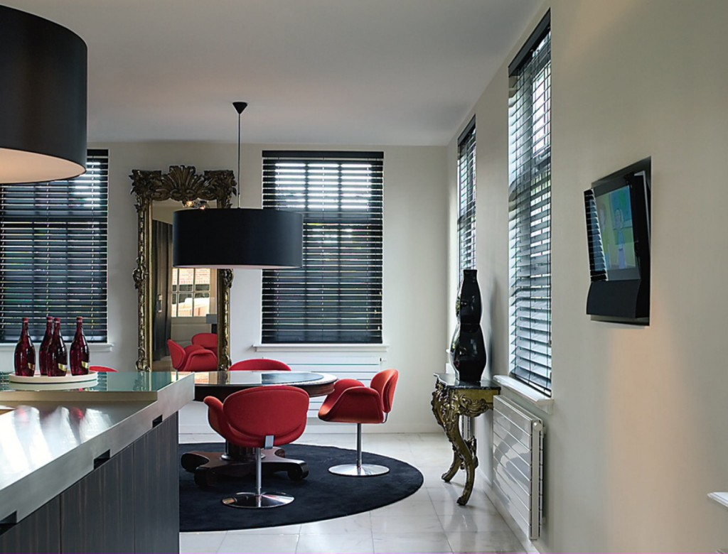 Contemporary Blinds For Cooking Areas Founterior