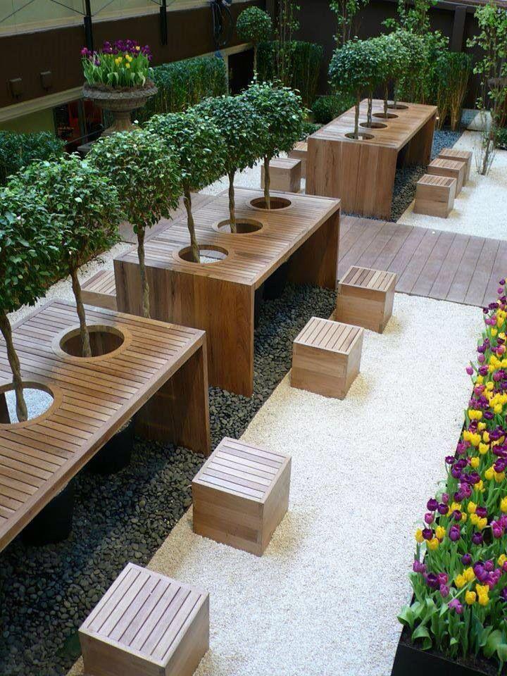 Outdoor Cafe Design Ideas - Cafe Interior and Exterior ... on Backyard Exterior Design id=84897