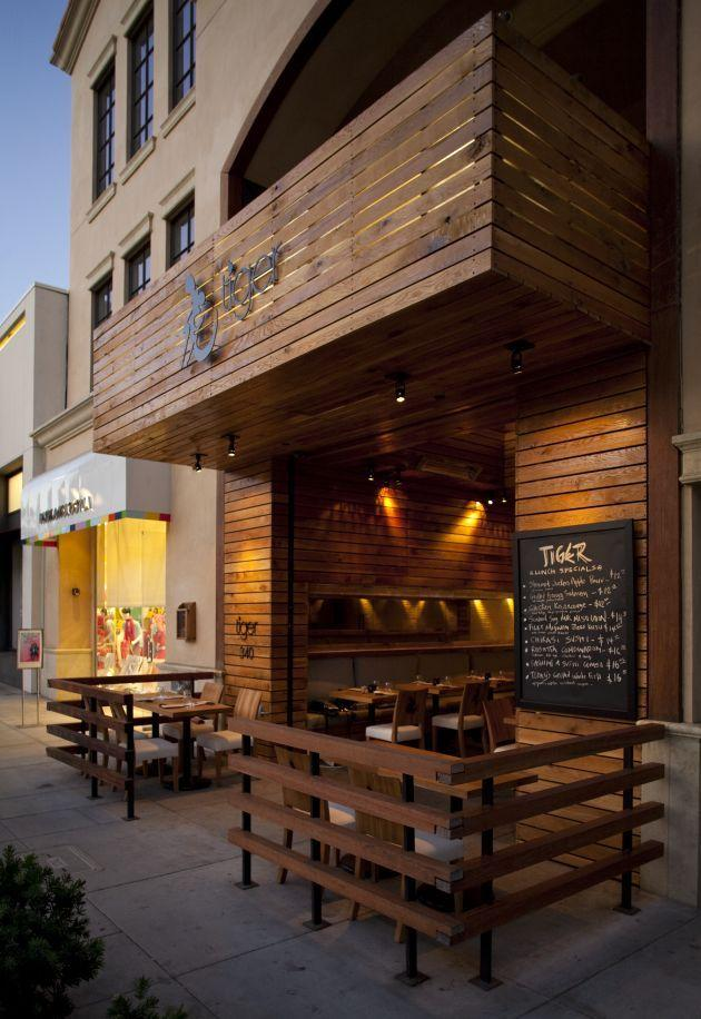 Outdoor Cafe Design Ideas - Cafe Interior and Exterior ... on Backyard Exterior Design id=21638