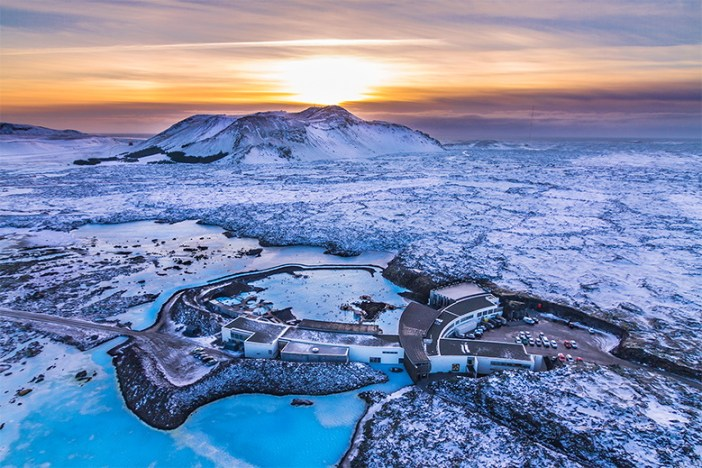 Фото: панорама Голубой Лагуны