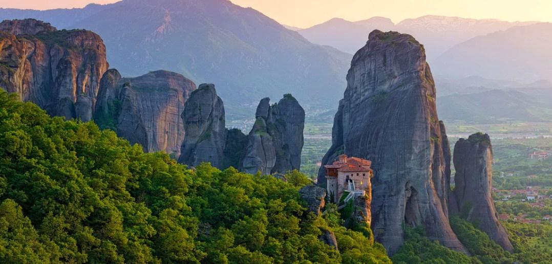 Монастыри Метеоры в Греции