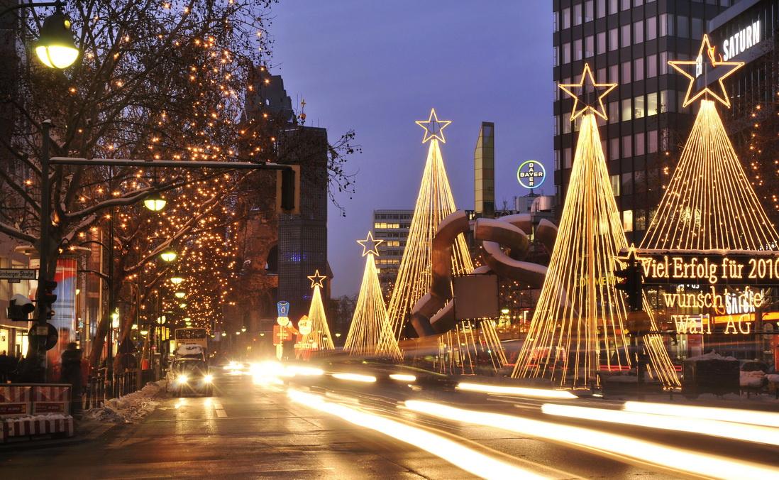 Рождественская ярмарка в Берлине [year] — время и место