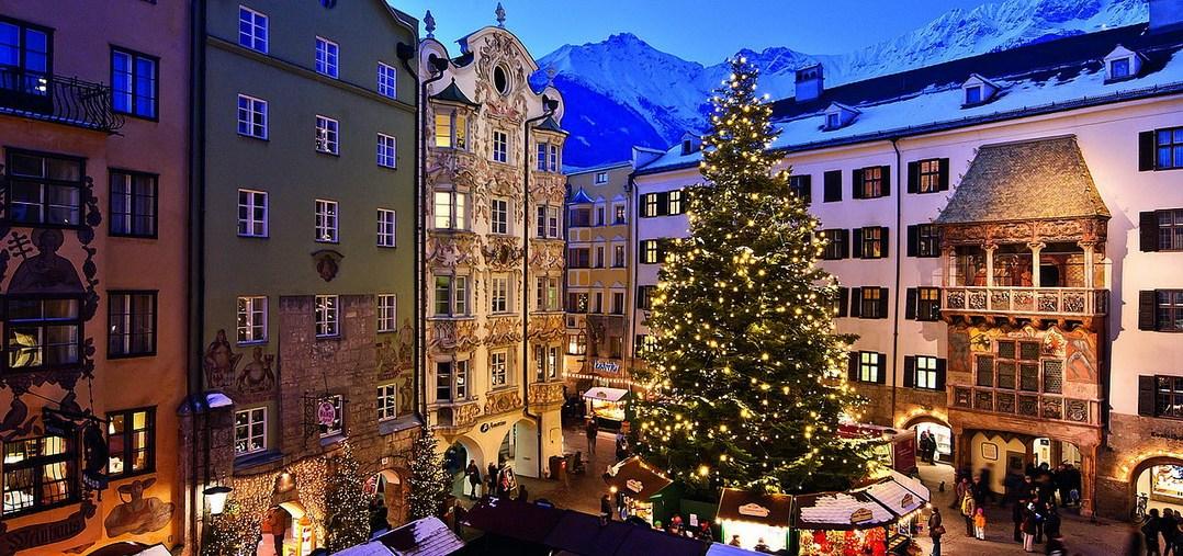 Рождественский рынок в Инсбруке