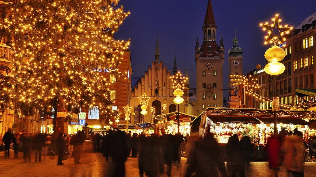 Рождественская ярмарка в Мюнхене [year] — даты и программа