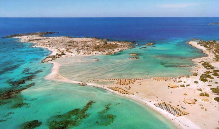 Интересные места Крита: пляж Элафониси