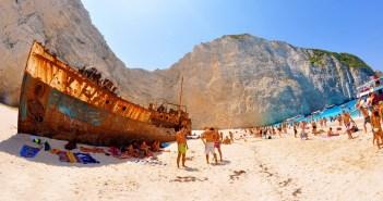 Пляж Навагио (о. Закинф, Греция)