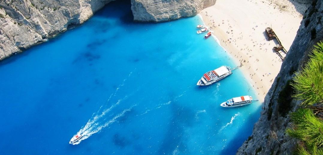 Фото с пляжей в греции 98