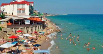 Поселок Приморский, Крым — отдых, отели, цены, пляжи