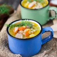 Шотландский суп кок-э-лики — рецепт приготовления