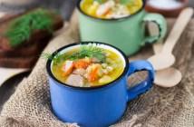 Куриный суп кок-э-лики — рецепт, ингредиенты, фото и видео