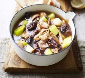 Шотландский суп кок-э-лики — рецепт, ингредиенты