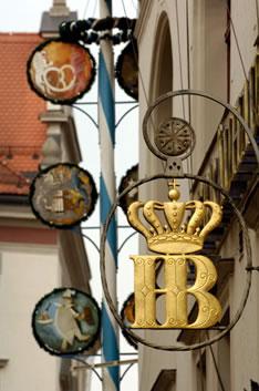 «Хофбройхаус» — самая знаменитая пивная в центре Мюнхена