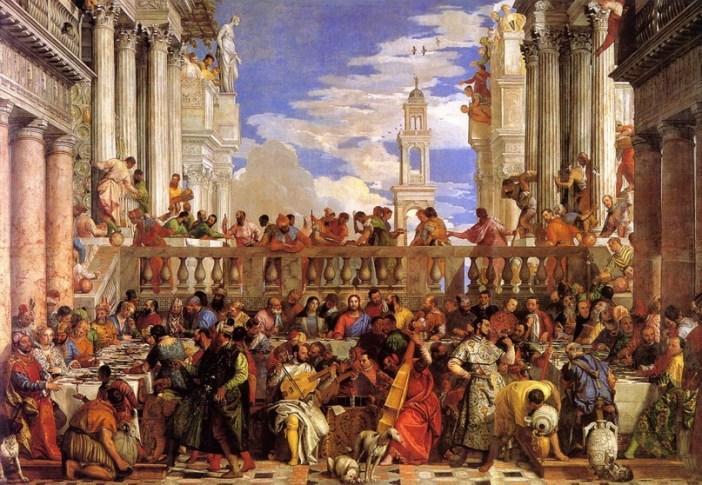 Картина «Брак в Кане», Паоло Веронезе