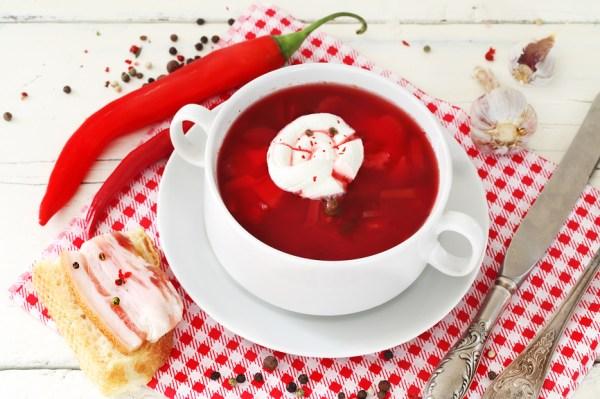 Украинский борщ по-львовски — набор продуктов, рецепт ...