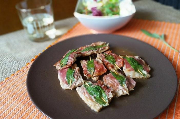 Сальтимбокка — простое, но вкусное римское блюдо