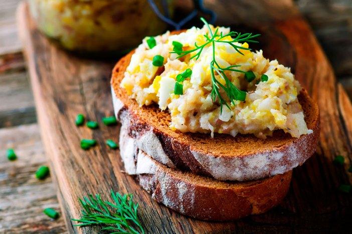 Рецепт пасты из скумбрии с огурцом для бутербродов / тостов
