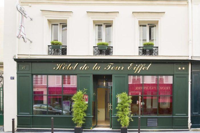 Hôtel Tour Eiffel (Эйфелева башня, Париж)