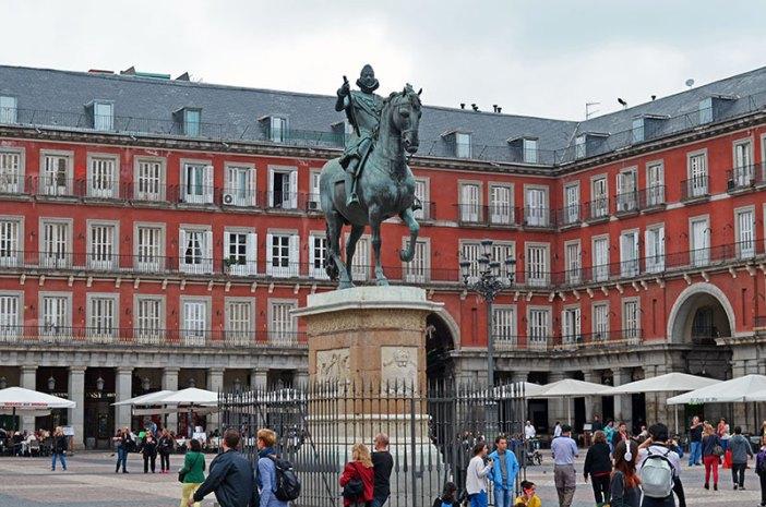 Пласа Майор в Мадриде (Plaza Mayor)