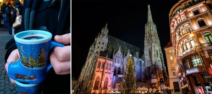 Лучшие рождественские рынки Вены: Стефанплатц