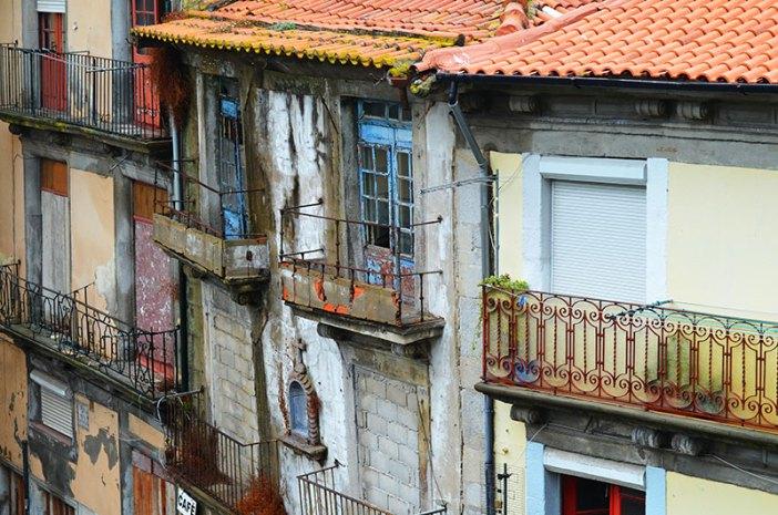 Старые дома и улицы (Порту, Португалия)