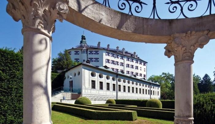Окрестности Инсбрука: замок Амбрас
