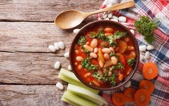 Фасолада — густой греческий суп (фото, описание, рецепт)