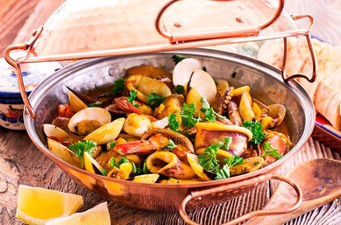 Морепродукты в Португалии: рагу Катаплана