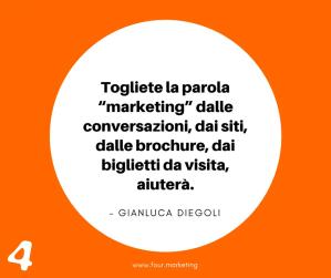 FOUR.MARKETING - GIANLUCA DIEGOLI