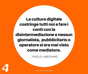 FOUR.MARKETING - PAOLO IABICHINO