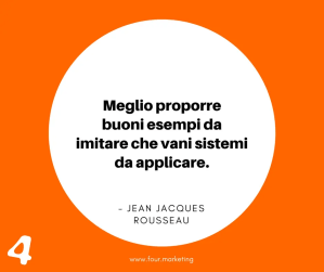FOUR.MARKETING - JEAN JACQUES ROUSSEAU