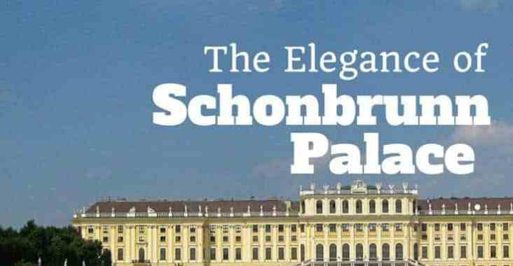 the elegance of Schonbrunn Palace