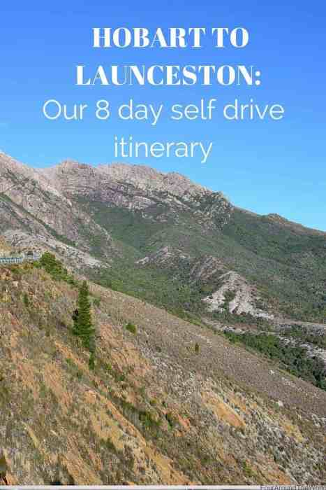 Hobart to Launceston self drive Tasmania Itinerarya