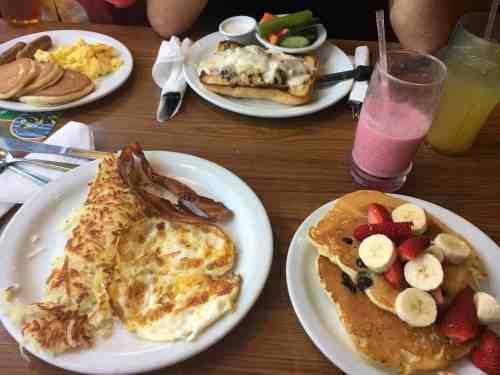 Denny's Diner Anaheim