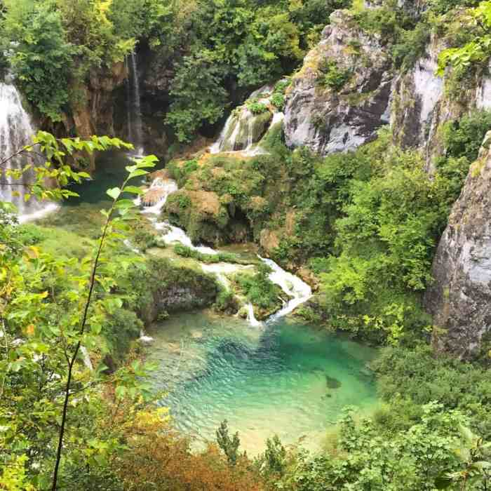 Plitvice Lakes with children