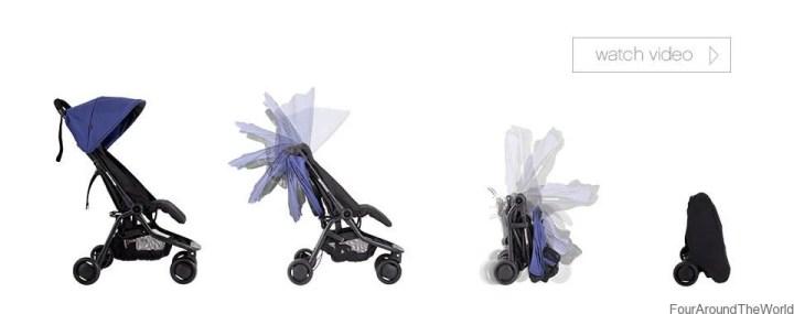 Best Travel Pram - Mountain Buggy Nano Compact Stroller