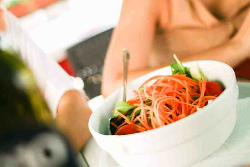 Making good food choices while travel, even when you are dining out