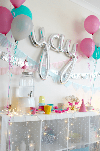 Kids birthday party ideas - more on the blog www.fourcheekymonkeys.com