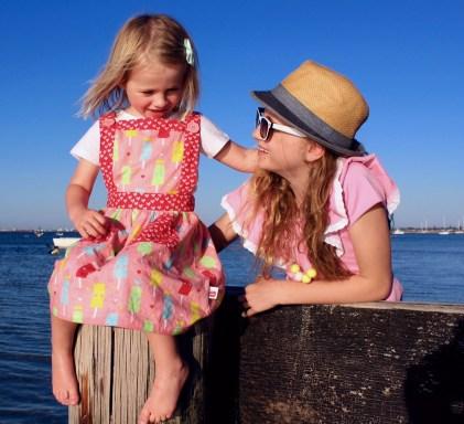 Kids summer fashion inspiration for girls