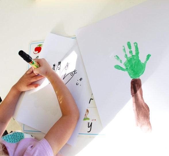 Handprint craft ideas for toddlers |handprint craft activities
