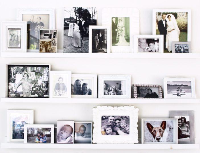 photo gallery display ideas