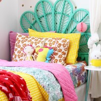 Kids Bedroom Ideas // Rainbow Retreat