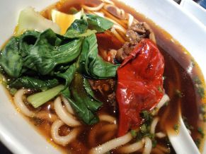 Shanghainese beef noodle soup