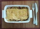 Kale sausage lasagna