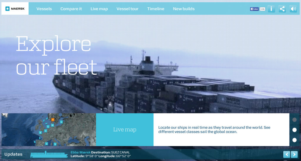 Voorbeeld Maersk