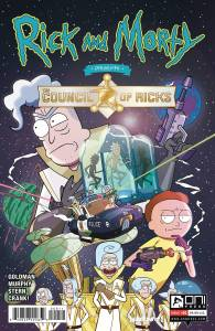 Rick & Morty Council of Ricks