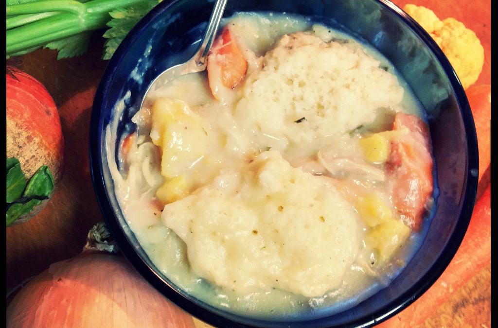 Crock Pot Golden Chicken Dumplings