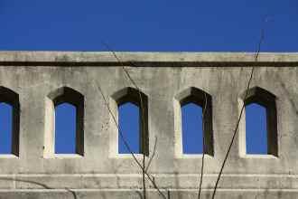Blue Sky, Bridge